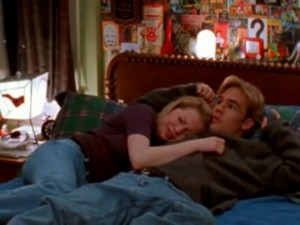 The most awkward thing to happen in Dawson's bed that doesn't involve butt-play.