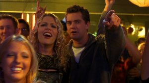 Pacey Witter (Joshua Jackson), Audrey (Busy Phillips)