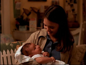 Joey Potter w/ a baby.