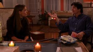 Joey and her professor