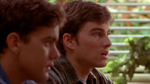 Pacey and Jack in class.