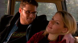 Seth Rogen and Busy Phillips