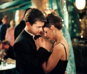 Pacey and Joey dance