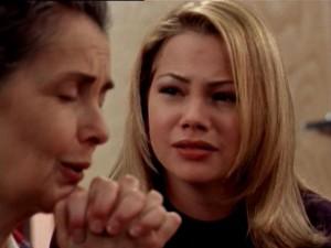 Grams prays, Jen cries