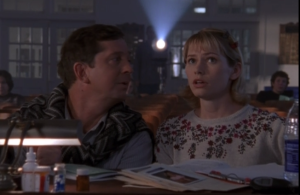 Andie watches Pacey audition