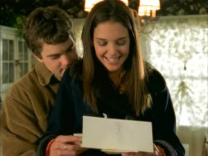 Pacey & Joey read a letter