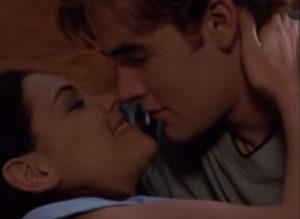 Dawson & Joey make out