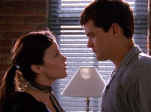 Pacey and his soon to be ex boss.